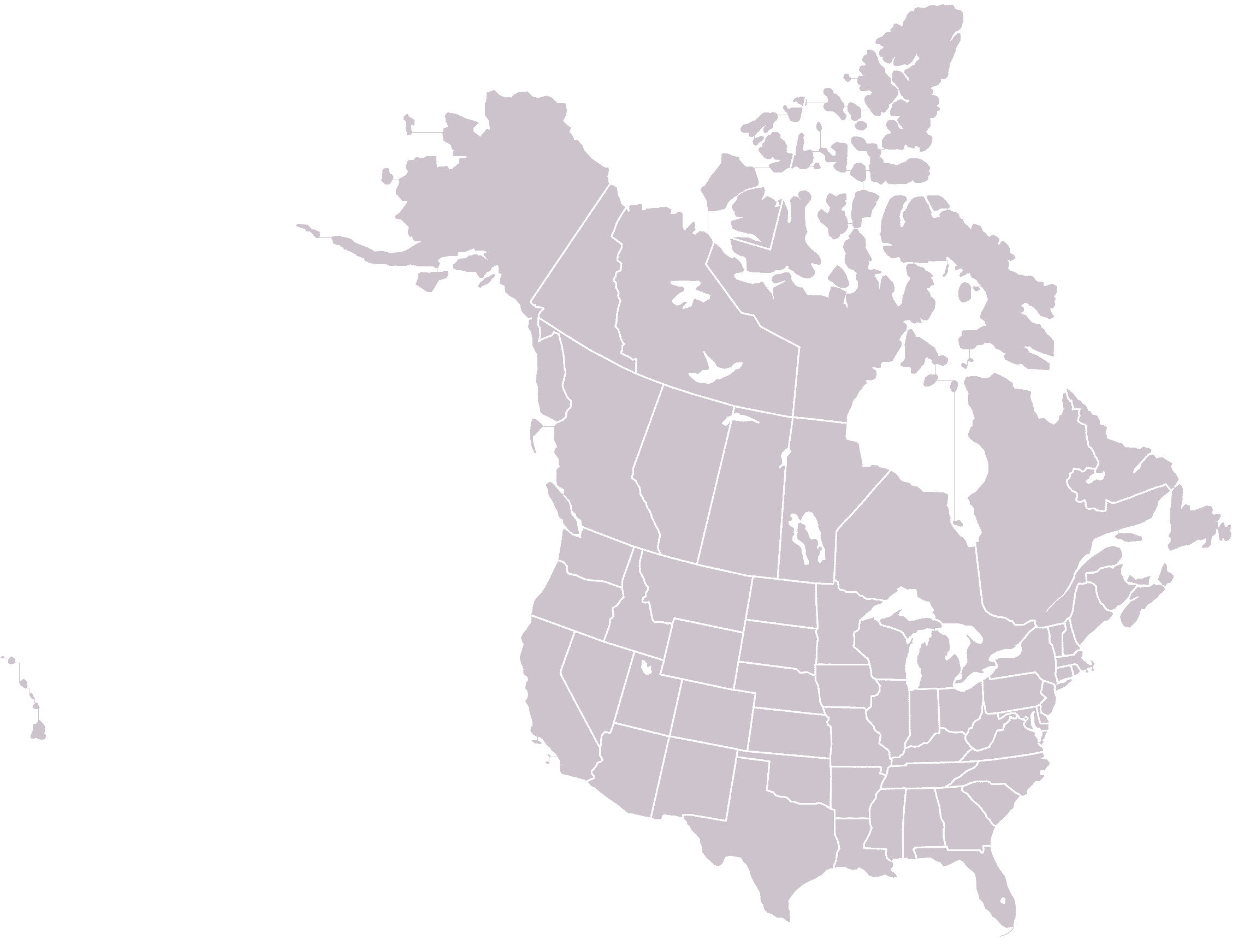 Maps Us Map Canada - Us and canada maps